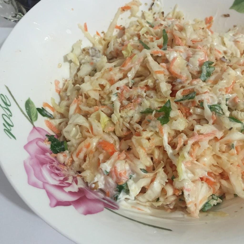 Lahana Salatası Yapılışı