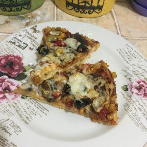Ekmek Hamurundan Pizza Yapılışı